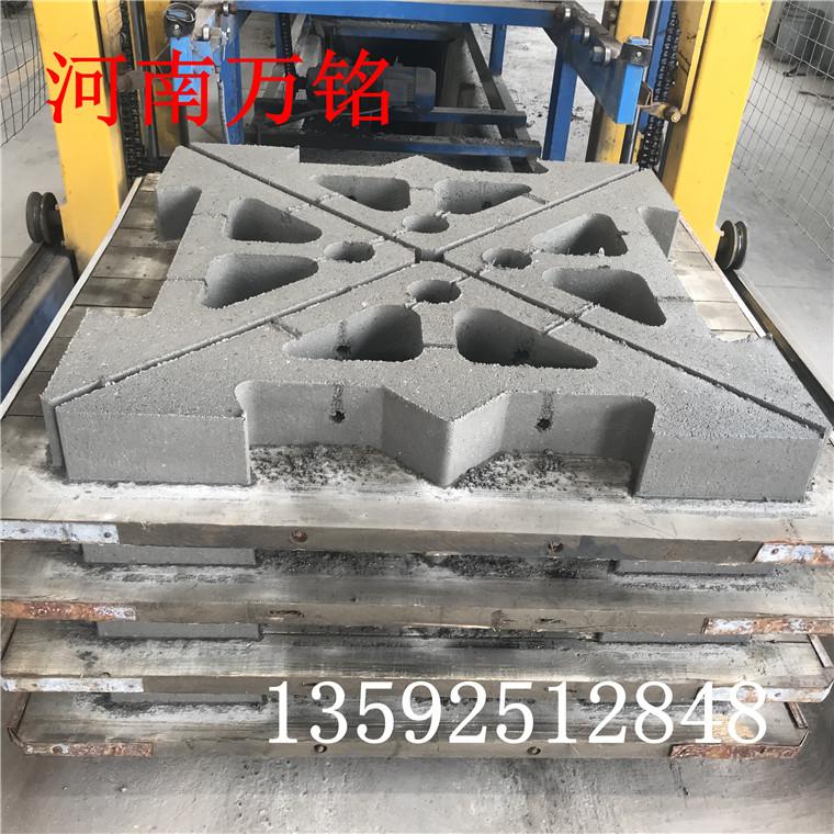 混凝土预制大三角铰接式生态护坡砖机