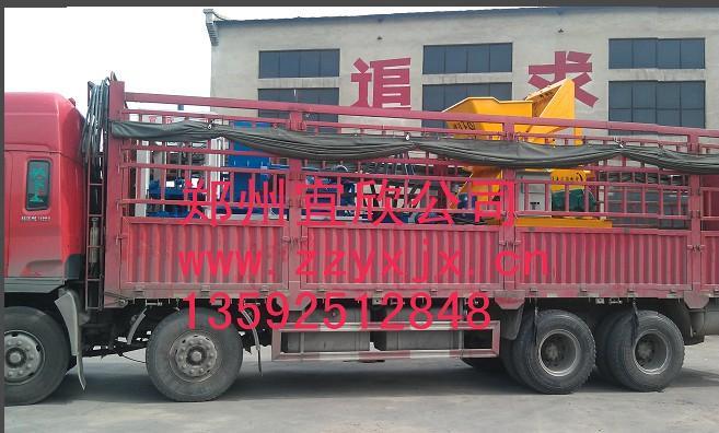 炎炎烈日下,4-15免烧砖机准备入驻河南开封