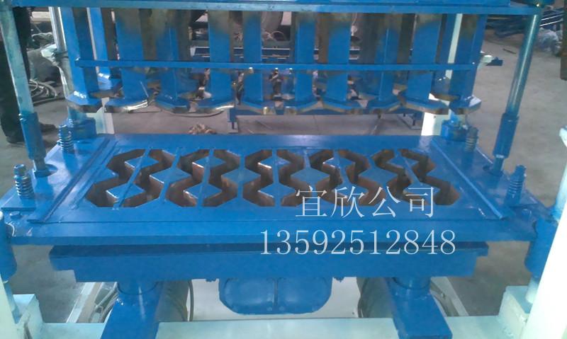 8字植草砖机模具