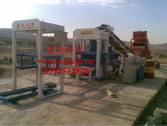 4-15水泥砖机生产线配置